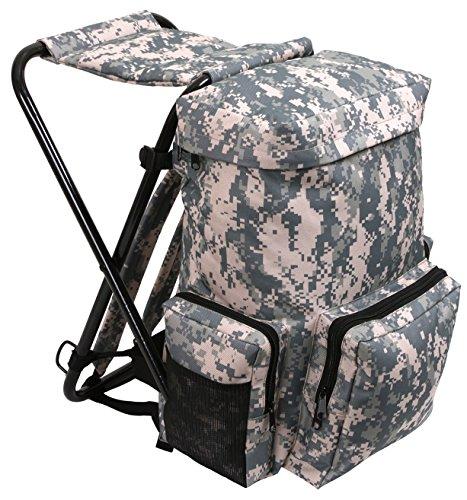 Rothco Backpack And Stool Combo Pack Acu Digital Camo