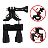 AxPower Bike Handlebar Mount Motorcycle Bicycle Seatpost Holder Accessory for GoPro Hero 5/4/3 GoPro 6 7 Xiao Yi 4K Campark ACT76 ACT74 AKASO EK7000 Apeman Action Camera Harley Davidson