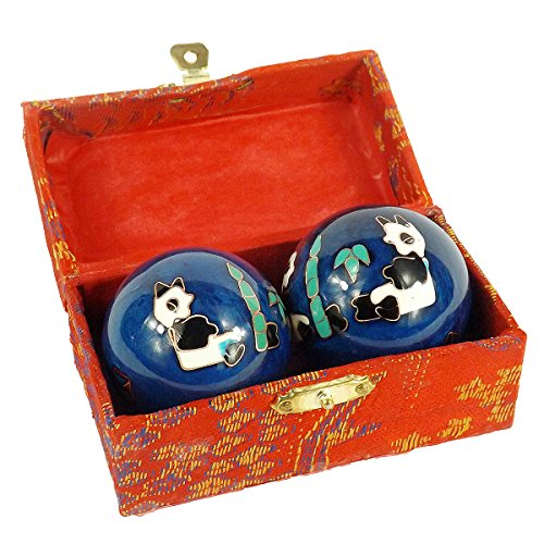 cloisonne health hand balls exercise stress balls craft collection