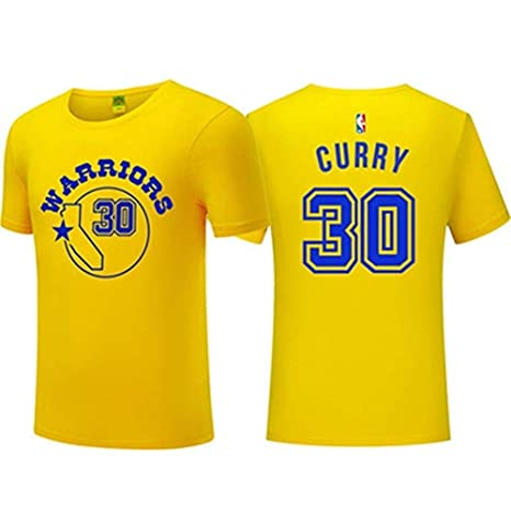Ldwxxx Camiseta NBA Golden State Warrior para Hombre Stephen ...
