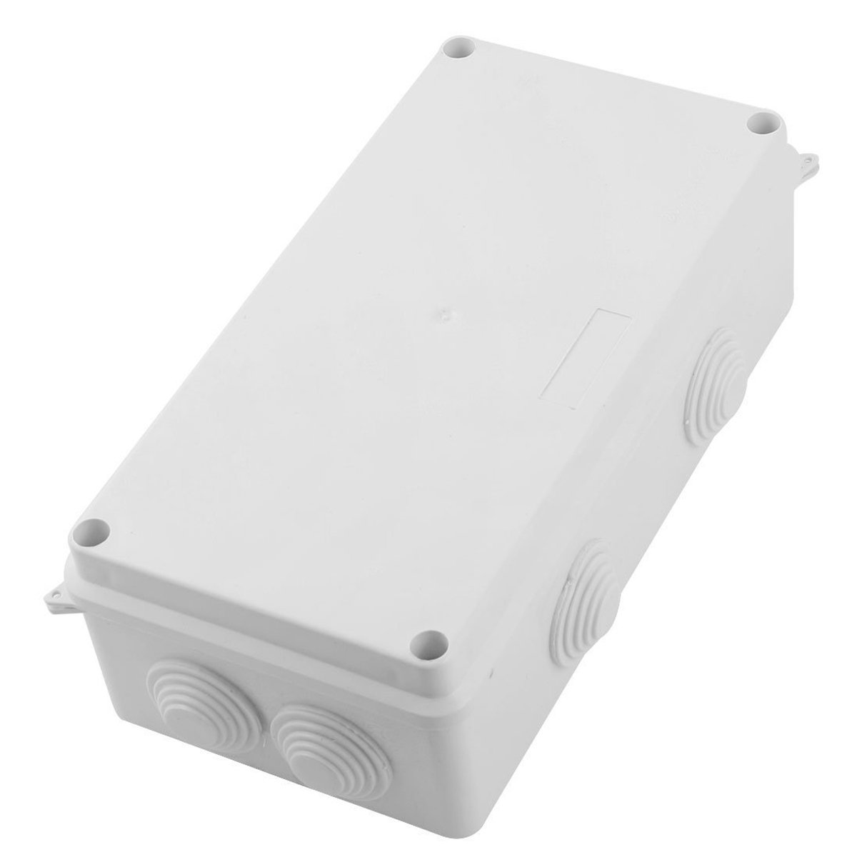 Saim DIY Junction Box 200mmx100mmx70mm Waterproof Plastic Electronic Project Box Junction Enclosure Case Box 9U-F3HS-ZFXB