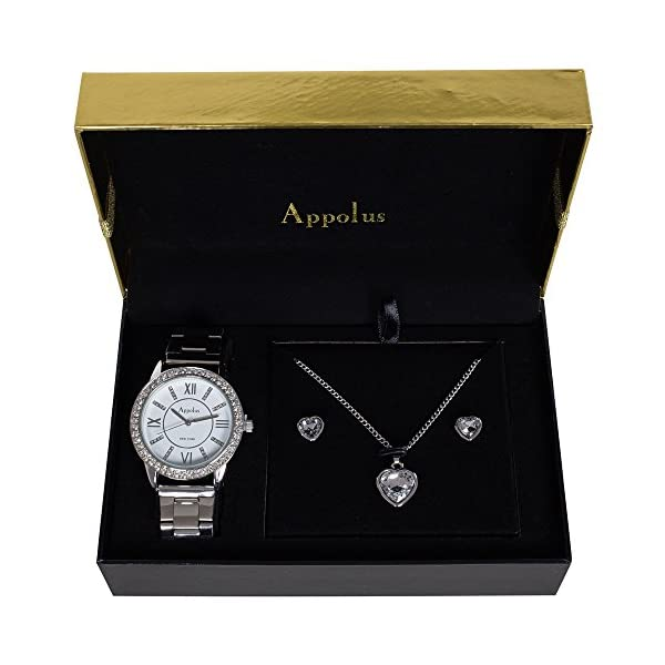 Appolus-Gifts-for-Women-Mom-Girlfriend-Wife-Anniversary-Birthday-Gift-Watch-Necklace-Set