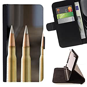 Jordan Colourful Shop - Bullet For Samsung Galaxy S6 - < Leather Case Absorci????n cubierta de la caja de alto impacto > -
