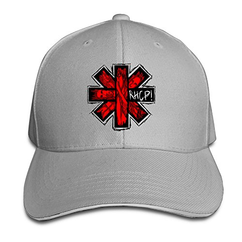 Red Hot Chili Peppers Band Logo RHCP Adjustable Unisex Hats Trucker Caps Sanwich Bill Caps (Chili Pepper Hat)