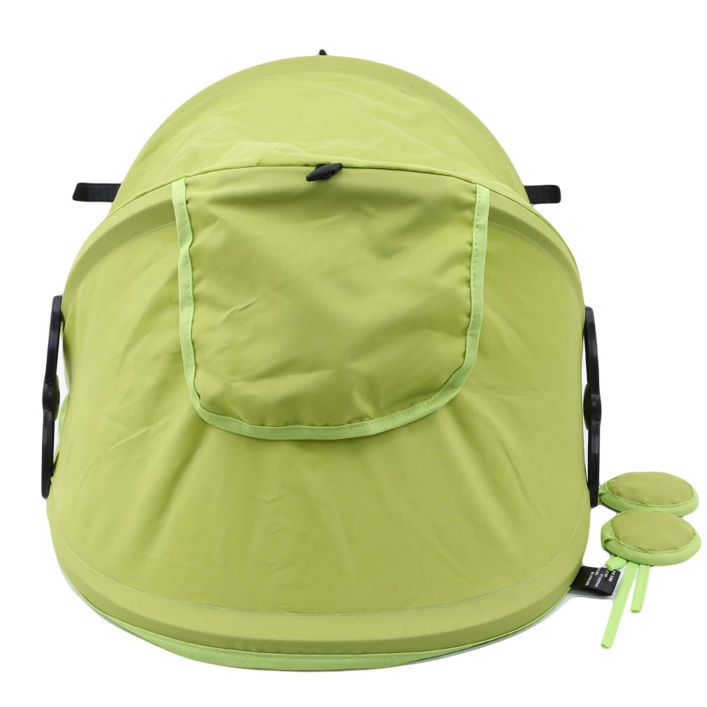 Firecolor Summer Baby Stroller Sunshield Shade Protection Hoods Canopy Stroller Accessories Baby Stroller Sun Visor Carriage,Reclining - Green by Firecolor