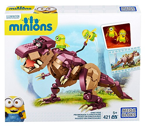 Mega Bloks Minions Dino Ride Building Kit