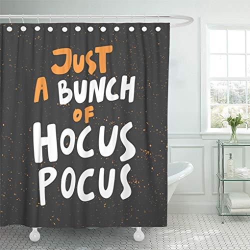 Emvency Shower Curtain Sets Waterproof 72