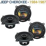 Fits Toyota Celica Supra 1982-1985 Rear Panel Replacement Harmony HA-R5 Speakers