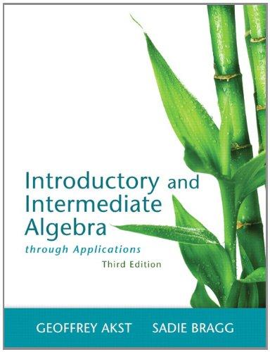 Intro.+Intermed.Alg.Through Appl.