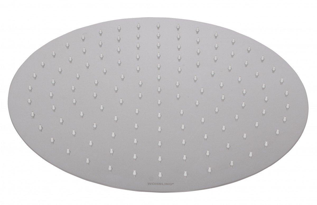 Wohnling luxus acciaio inox installazione fissa u2013 soffione per