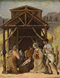 essential oil computer program - Oil Painting 'Ercole De Roberti-The Adoration Of The Shepherds,1490', 12 x 16 inch / 30 x 40 cm, on High Definition HD canvas prints is for Gifts And Hallway, Kitchen And Living Room Decoration, fast