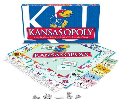 (Late for the Sky University of Kansas - Kansasopoly)