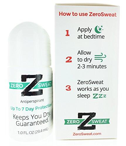 Buy deodorant to stop sweating