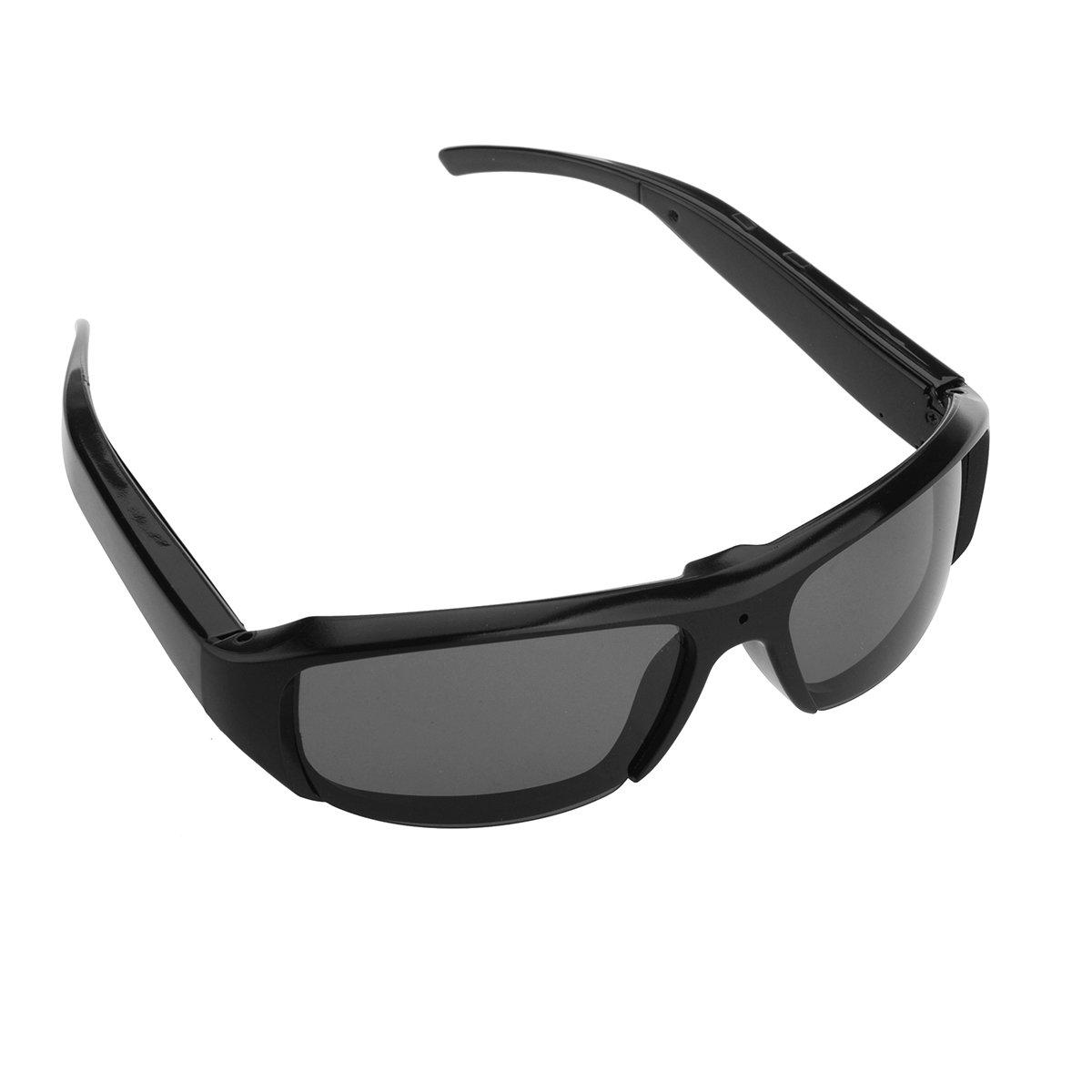 Spy Camera Occhiali, OMOUP HD 1080P 16GB Telecamera Nascosta Glasses Sport Videocamere DVR Spia Pinhole Occhiali