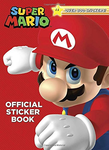 Super Mario Official Sticker Book (Nintendo) cover