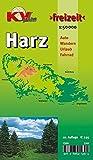 """Harz: 1:50.000, Der """"ganze"""" Harz von Goslar bis Sangerhausen und Osterode bis Quedlinburg, Freizeitkarte incl. Rad- und Wanderwegen (KVplan-Freizeit-Reihe / http://www.kv-plan.de/reihen.html)"""