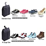YAMIU Travel Shoe Bags Set of 4 Waterproof Nylon