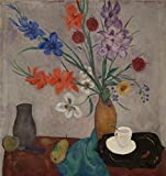 'Jan Sluijters - Still Life, 1921' Oil Painting, 30x32 Inch / 76x81 Cm ,printed On High Quality Polyster Canvas ,this Imitations Art DecorativeCanvas Prints Is Perfectly Suitalbe For Powder Room Decor And Home Decoration And Gifts