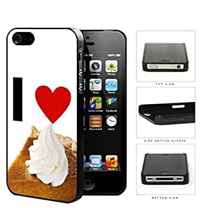 I Heart Pie Hard Plastic Snap On Cell Phone Case Apple iPhone 4 4s