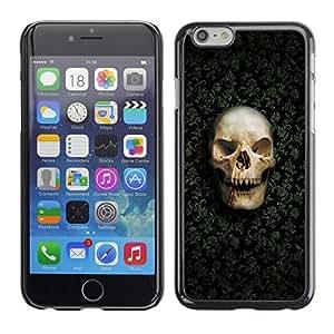 Design for Girls Plastic Cover Case FOR Apple Iphone 6 Plus 5.5 Design Skull Pattern OBBA