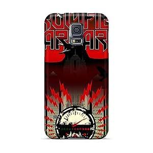 Bumper Hard Cell-phone Cases For Samsung Galaxy S5 (yKK14723MsCF) Custom HD Metallica Skin