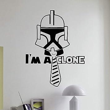 Star Wars Etiqueta de la pared Extraíble Vinyl Clone Trooper ...