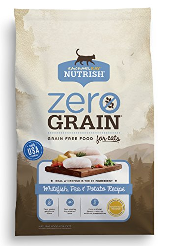 Rachael Ray Nutrish Zero Grain Natural Dry Cat Food, Whitefi
