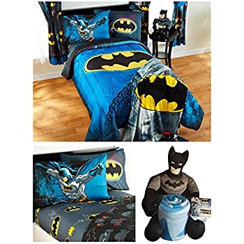 Amazoncom DC Comics Batman Full Bedding Set Reversible - Batman dark knight bedding