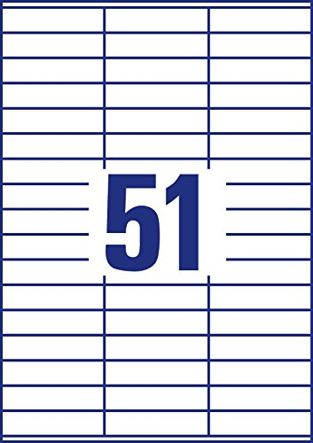 AVERY Zweckform 3420 Universal-Etiketten (A4, Papier matt, 5,100 Klebeetiketten, 70 70 70 x 16,9 mm, 100 Blatt) weiß B000122B72 | Gewinnen Sie hoch geschätzt  b18c94