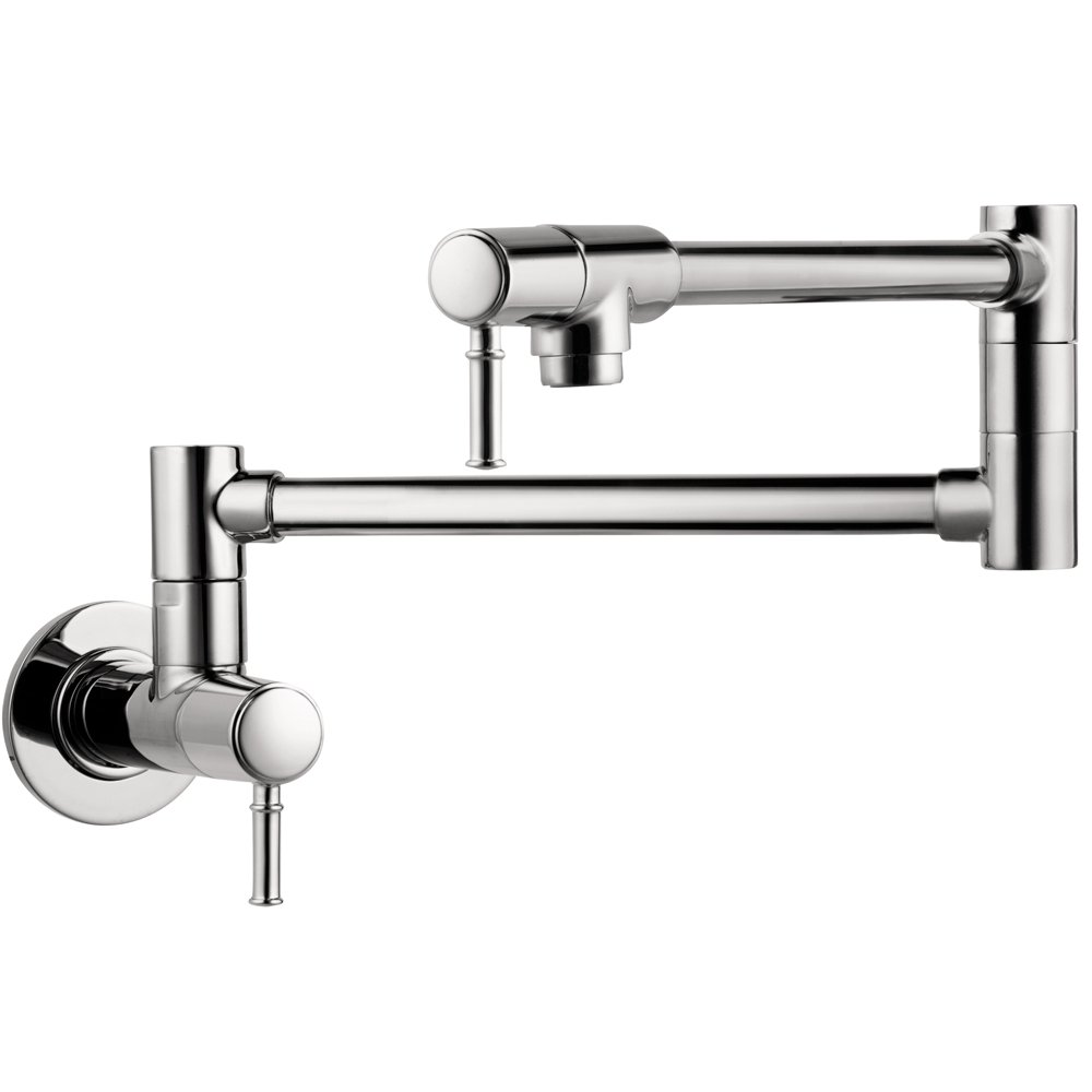 Hansgrohe 04218000 Talis C Pot Filler, Wall Mounted, Chrome - Pot ...