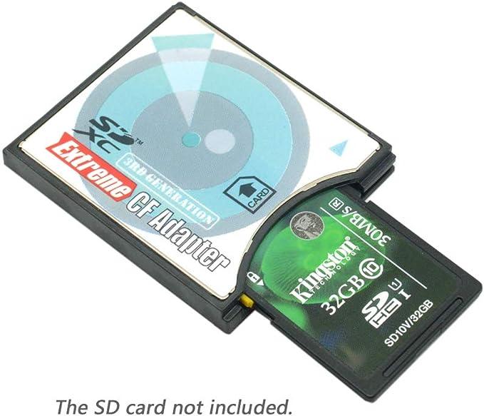 Extreme Compact Flash tipo II adaptador de tarjeta de memoria ...