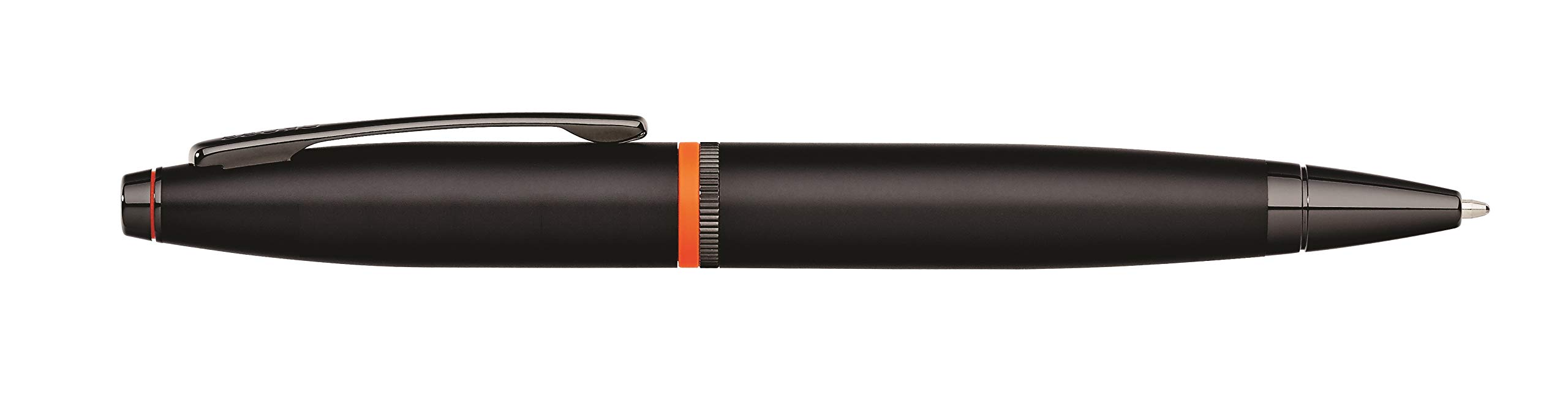 Cross Calais Liberty United Matte Black Lacquer Ballpoint Pen with Glossy Black PVD Appointments by Cross (Image #5)