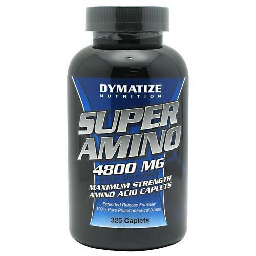 Dymatize Nutrition Super Amino, 4800 mg 325-Comte