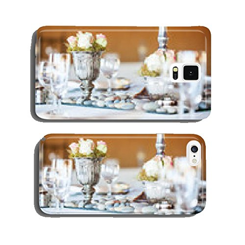 Rose-bouquet-in-silver-vase-at-wedding-reception-cell-phone-cover-case-iPhone5