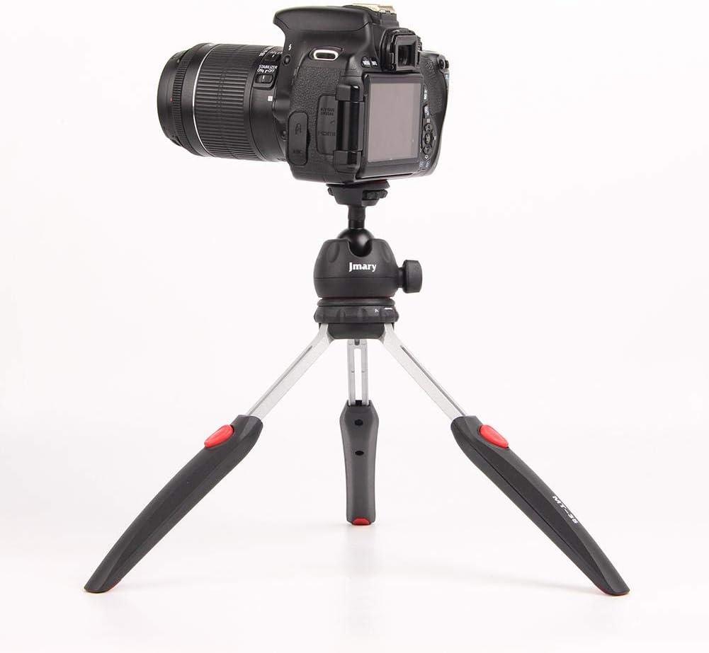 Convenient Telescopic Mini Tripod with Mobile E-Clip emotus Tripod for Jmary MT-35