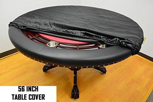 Mrc Poker 56'' Round Vinyl Poker Table Cover by by Mrc Poker
