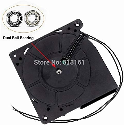 10 pieces Gdstime EC Blower Fan 12032 120mm x 32 mm Turbo Blower Fan AC 110V 115V 120V 220V 240V Cooling Cooler Fan