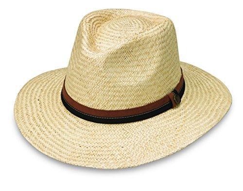 Wallaroo Men's Byron Sun Hat - UPF 50+ - Sophisticated Style, Natural - Hat Ml Straw