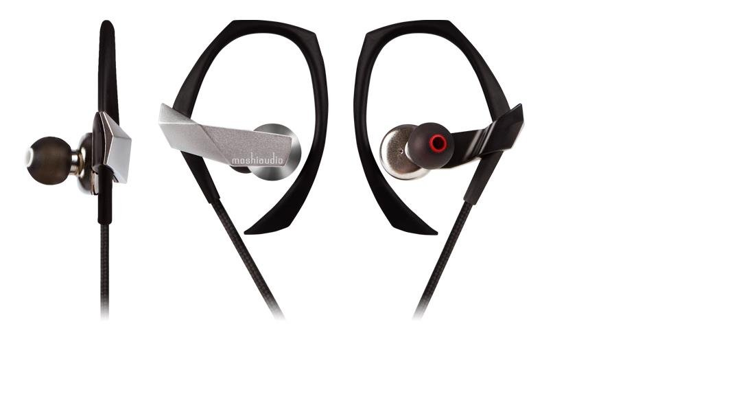 Moshi Clarus Premium Dual Driver In-Ear Headphones with Microphone, Silver by Moshi (Image #1)