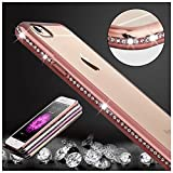 KrygerShield® Diamond iPhone 6s Plus 6 Plus Gel Case - Rose Gold