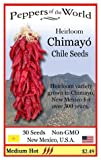 Chimayo Hot Peppers Seed - Heirloom From New Mexico - Great Flavor!