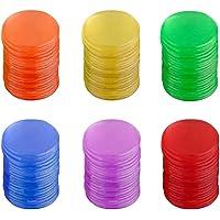 Toyvian Plastic Tokens Pro Count Bingo Chips Marcadores