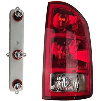 Amazon Com 2002 2006 Dodge Ram Pickup Tail Lights 1 Pair