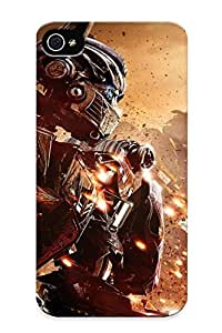 High-quality Durable Protection Case For Iphone 4/4s(bumblebee, Optimus Prime ) For New Year's Day's Gift