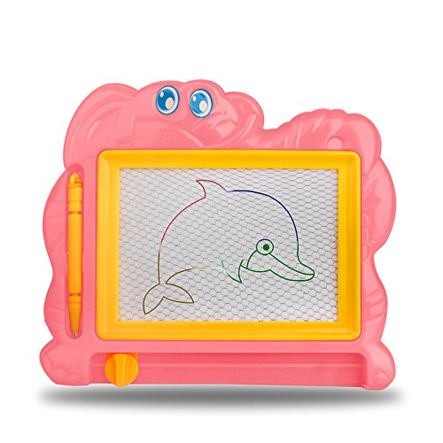Gbell  Mini Magnetic Drawing Board for Toddlers,Kids Cute Drawing Board Sketch Doodle Writing Art Graffiti Handwrite Tablet Crafts Supplies Educational Toy for Baby