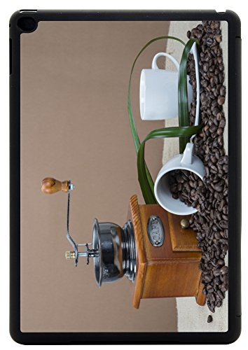 Rikki Knight Coffee Grinder And Cups On Some Bean Design iPad Air 2 Smart Case for Apple iPad Air 2 Full Coverage Ultra-thin smart cover (iPad Air ONLY – not for NEW iPad)