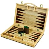 15in Walnut Backgammon Set