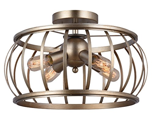 Contemporary Overhead Flush Lighting (Alice House 18