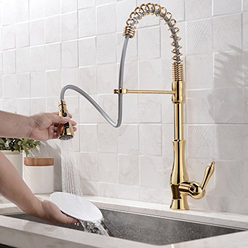 Gold Kitchen Faucet: Kitchen Gold Faucets Price Compare