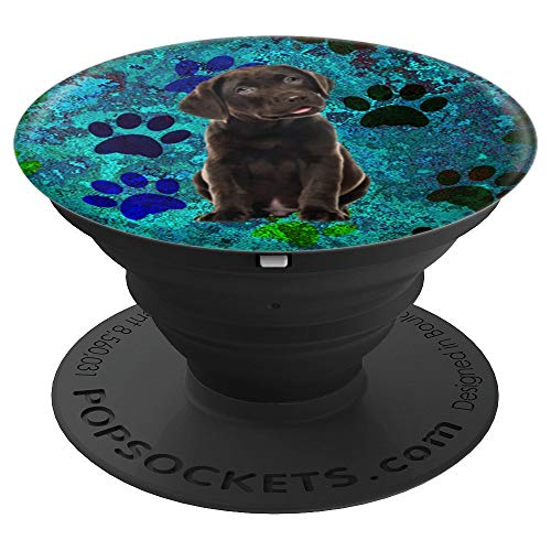 Chocolate Labrador Retriever Puppy - PopSockets Grip for sale  Delivered anywhere in USA